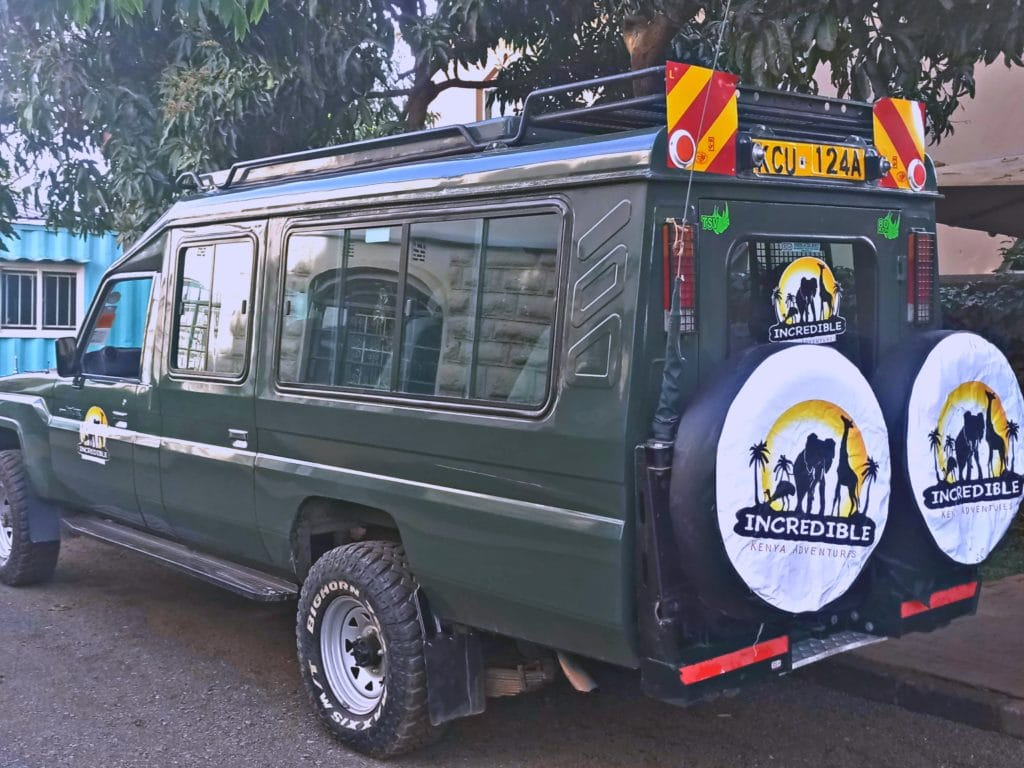 Land cruiser (Jeep) for ready for Masai Mara Safari