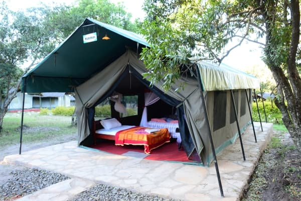 Budget Camp at Masai Mara National Reserve.