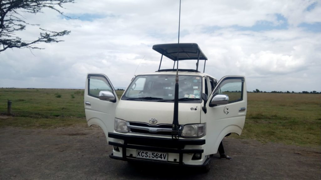 Tour Van, ready for Masai Mara Safari