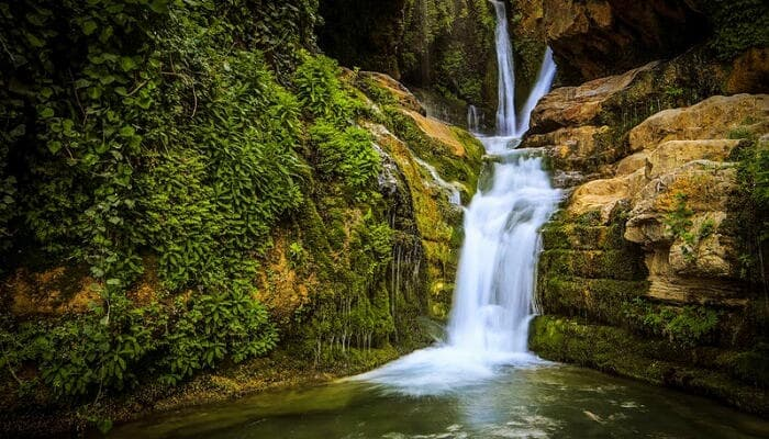 The Cave WaterFalls a natural attraction in Tanzania
