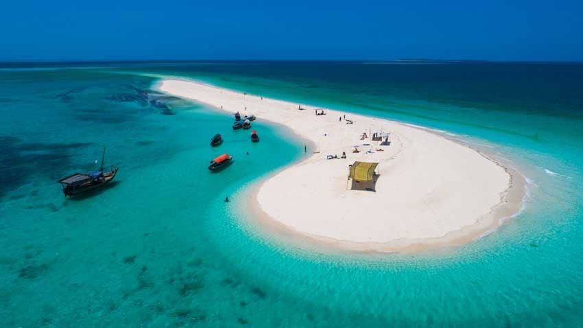 Natural Attraction in Tanzania, Mbudya Island