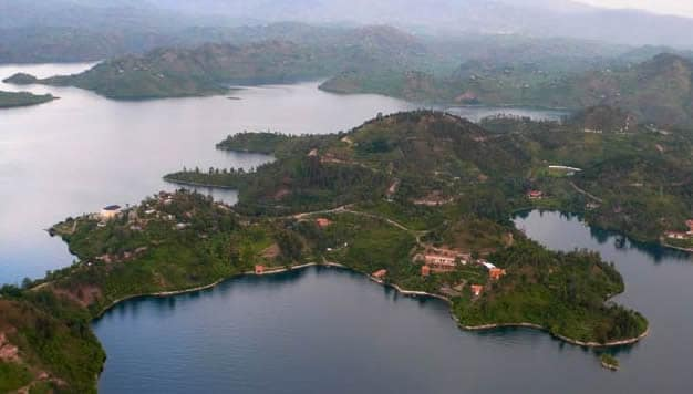 One of the unique attractions in Rwanda, Twin Lakes