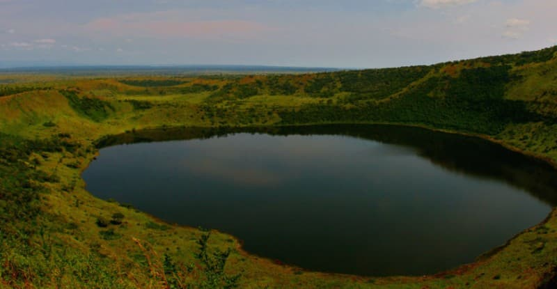 Lake Katwe Explosion Crater Lake (one of the hidden gems in Uganda)