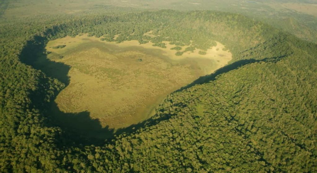 Ngurdoto Crater a Natural Attraction in Tanzania