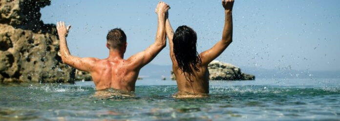 Nude Beach In Africa: Couples Splashing Water, Image Smarter Travel