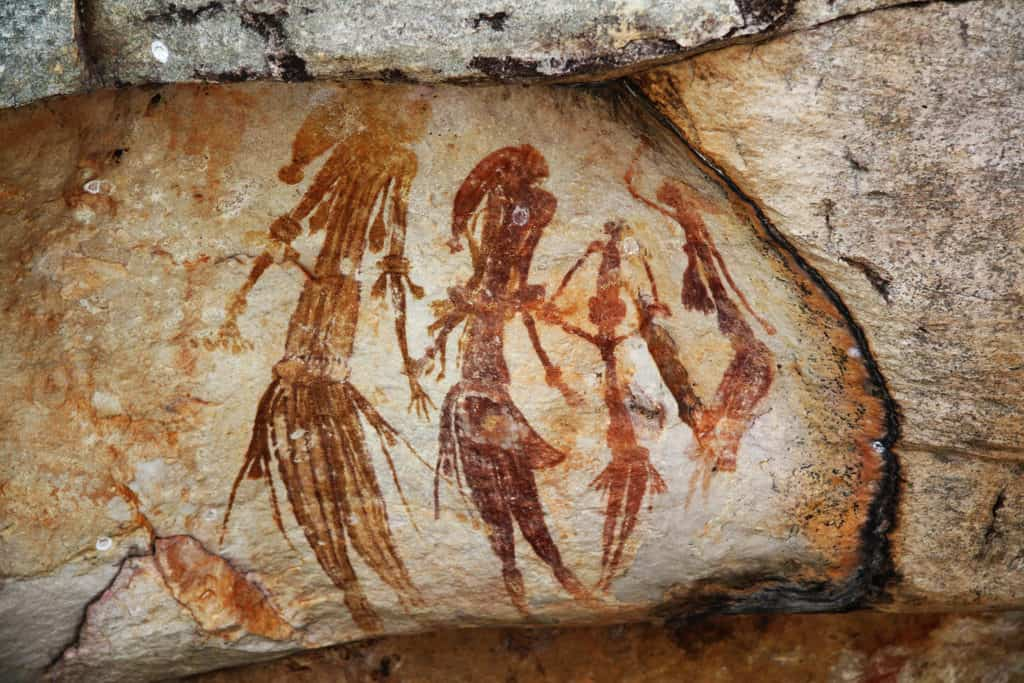 Nyero Rock Painting