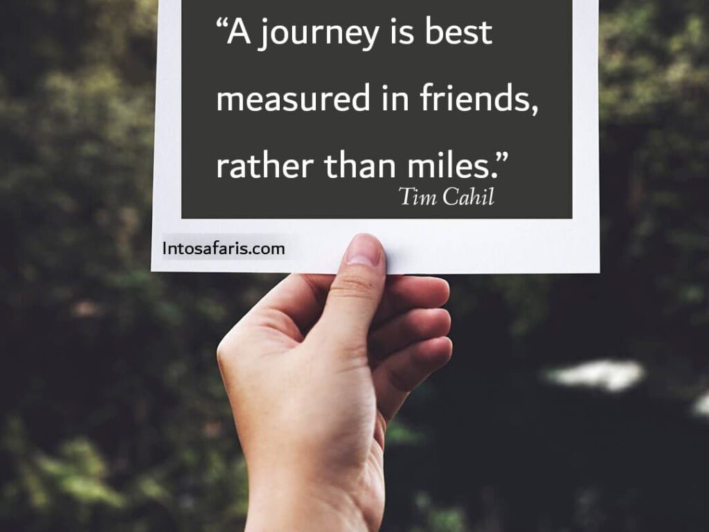 A Journey is Best (Best Travel quotes)