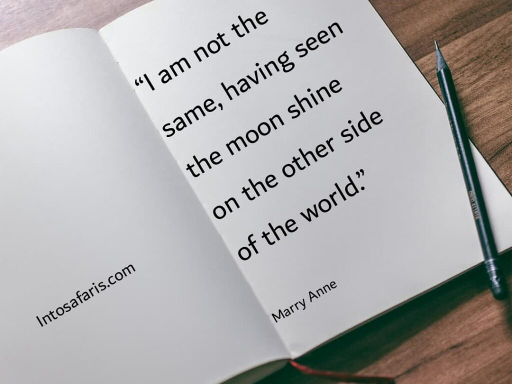 Am not the Same (Best Travel quotes)