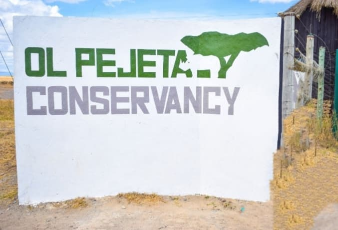 7miles to Ol Pejeta conservancy