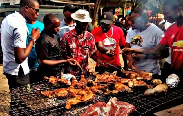 The street food at Arusha