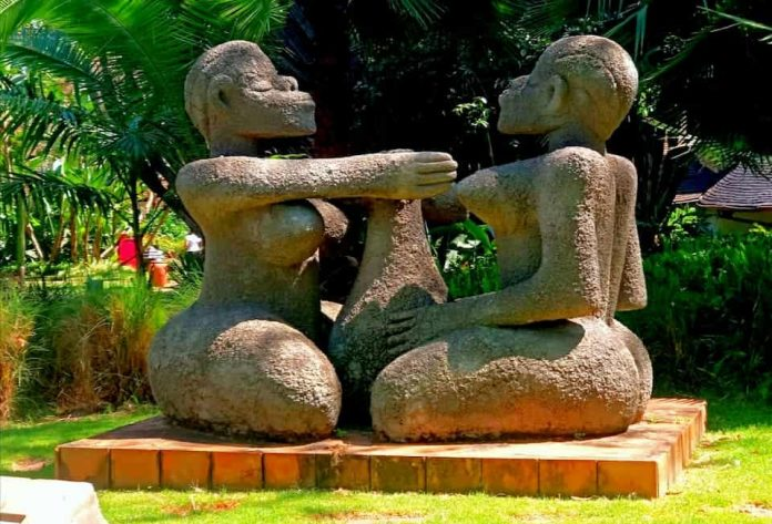 African myths about travelling to Africa (Art at Safari Park Hotel of Cultural Practises)