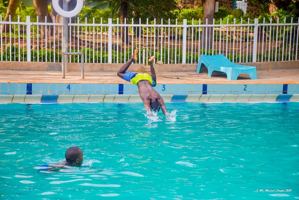 The Swimming at Sports Club