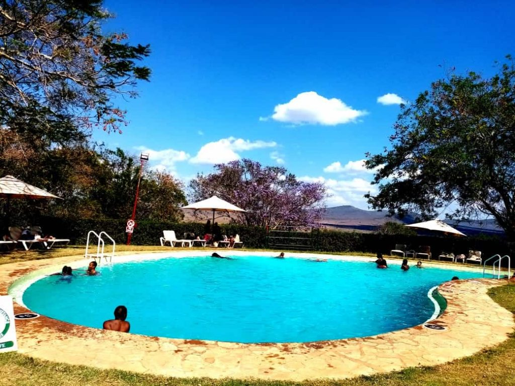 Swimming Pool at Taita Hills Safari Resort and Spa