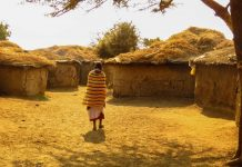 The Maasai People, Houses (Huts)