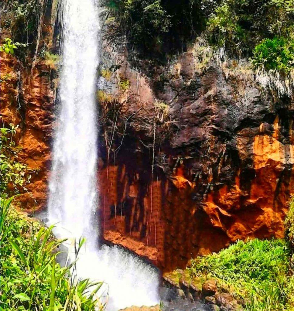 The Nthenge Njeru Falls