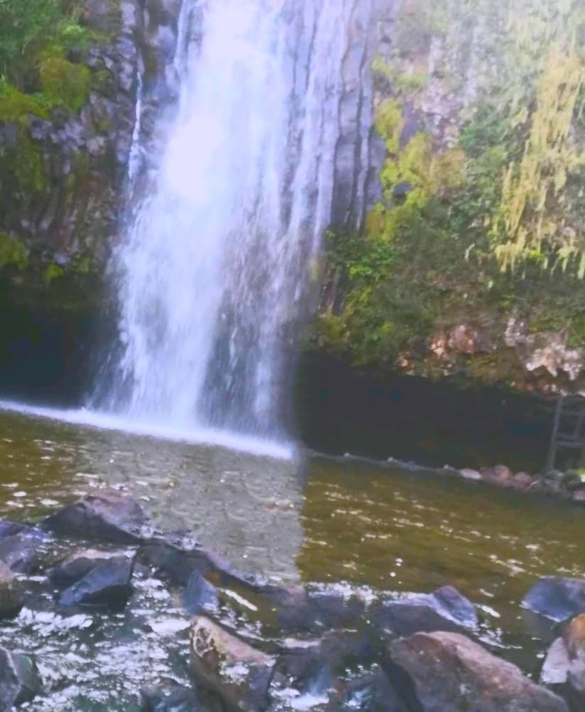 The Water Fall at The Mount Kenya Excursion