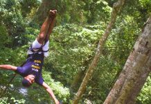 Wild Swing at Camp Ndunda Falls Embu County