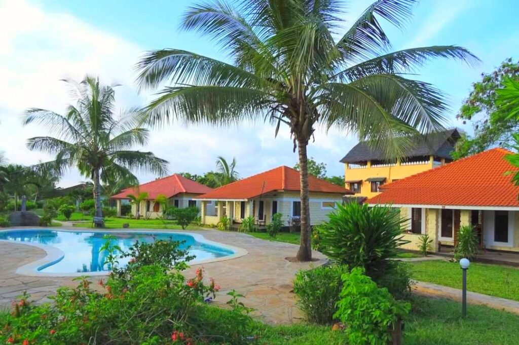 Diani Beach Holiday Package Cottage