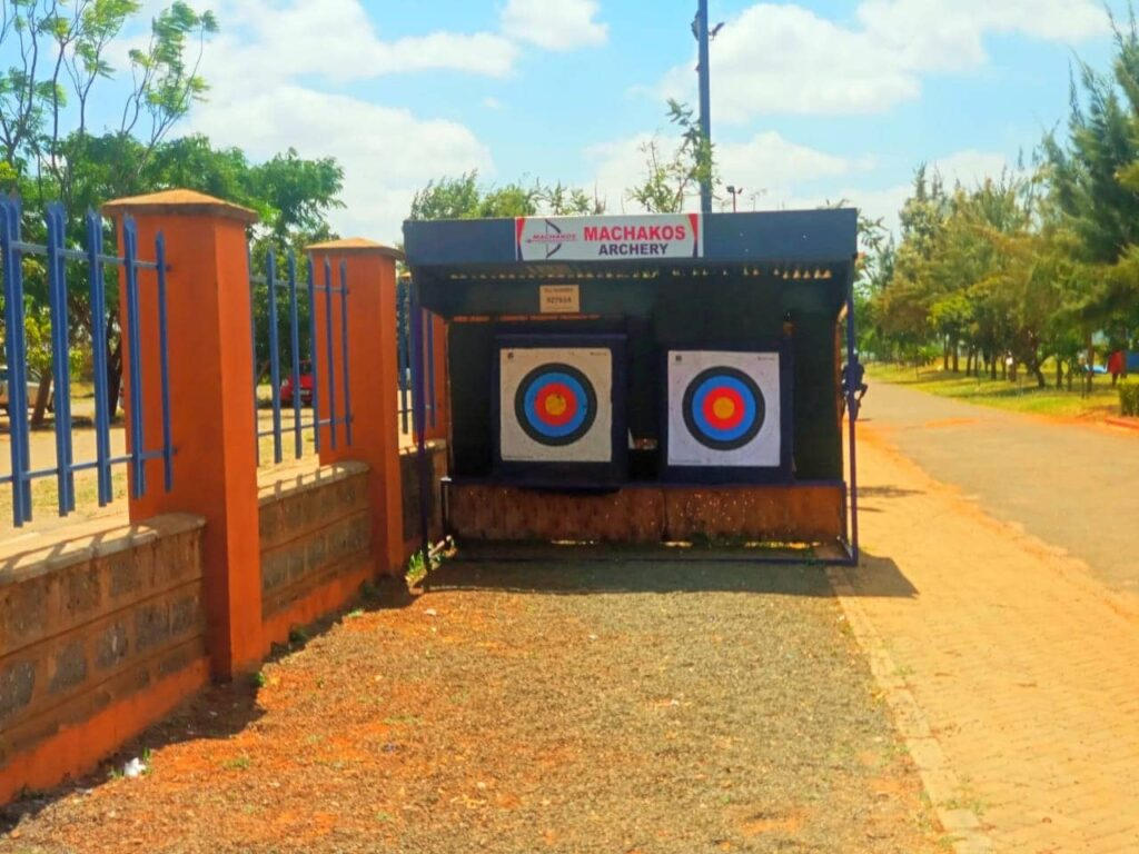 Archery at Machakos People`s Park