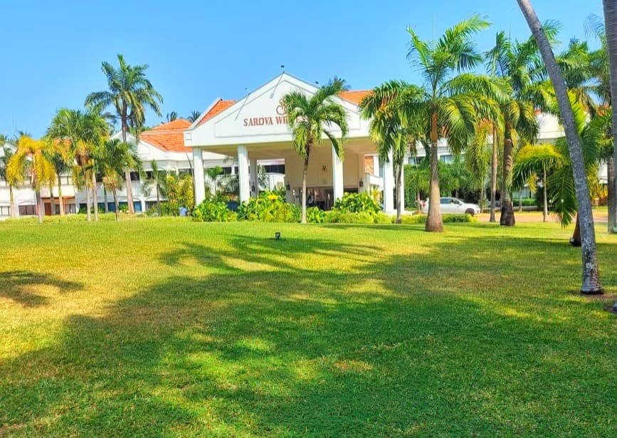 Front View of Sarova Whitesands Beach Resort & Spa