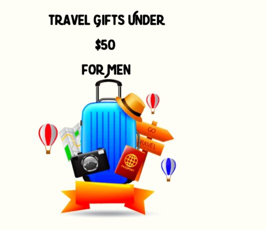 Travel Gifts under $50 for Men
