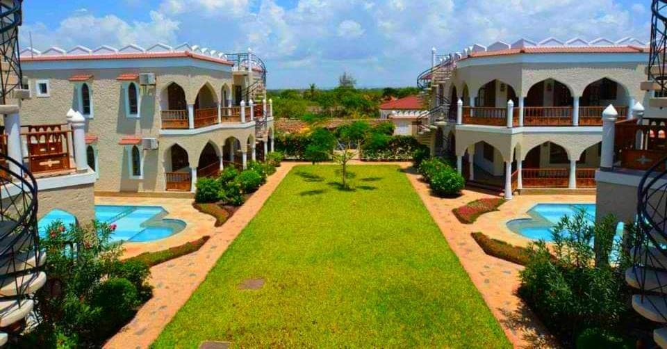 One of the Cottages and Villas in Diani which has Double Pools