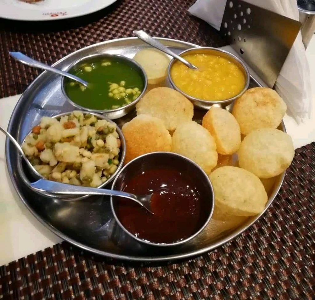 Pani Puri at Chowpatty Restaurant
