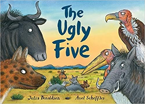 The Book- Ugly five Animals