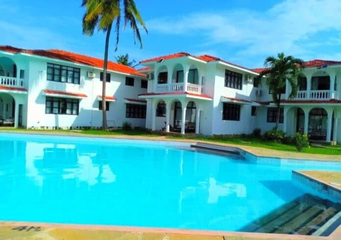 Villas and Cottages in Diani Kenya.