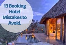 Booking hotels mistakes in Kenya