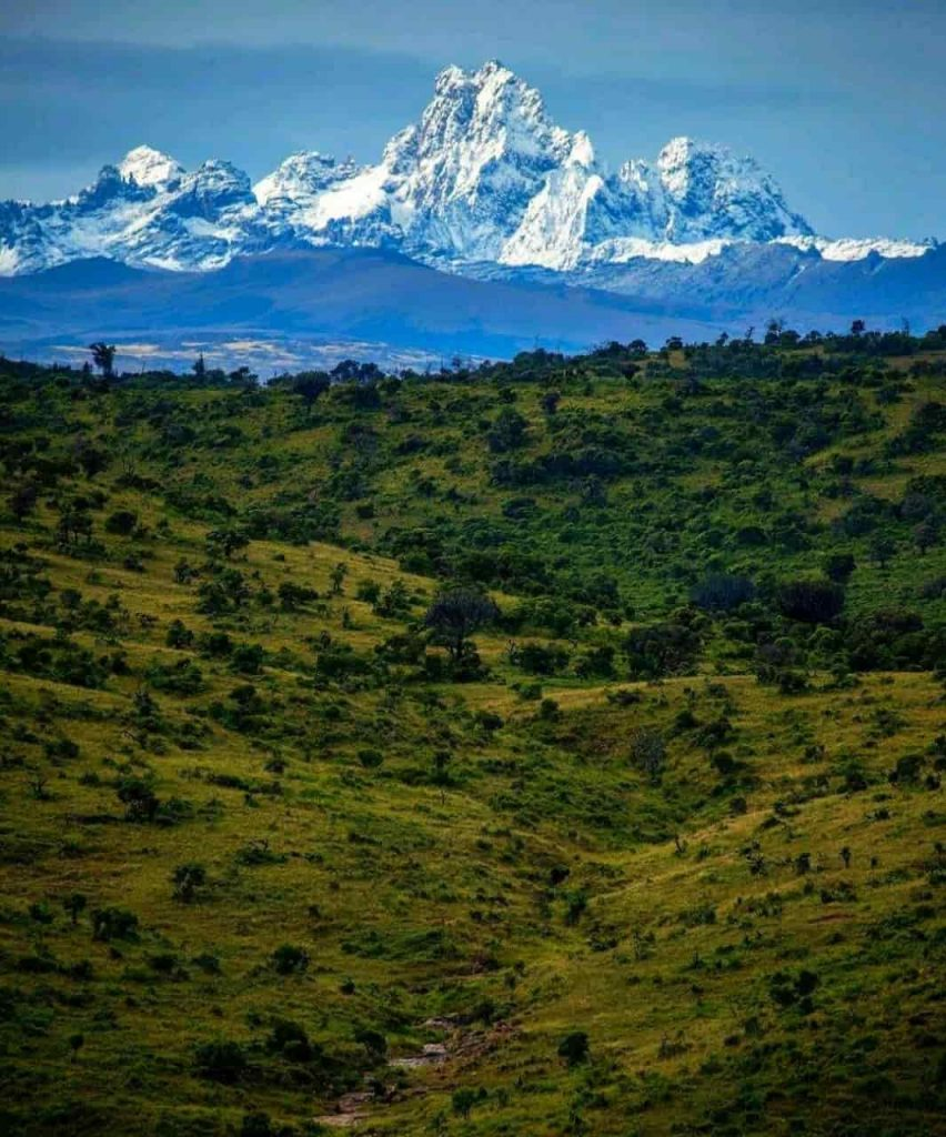 One of the Main touristic places in Nanyuki, Mount Kenya