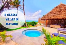 One of the Villas and Cottages in Watamu