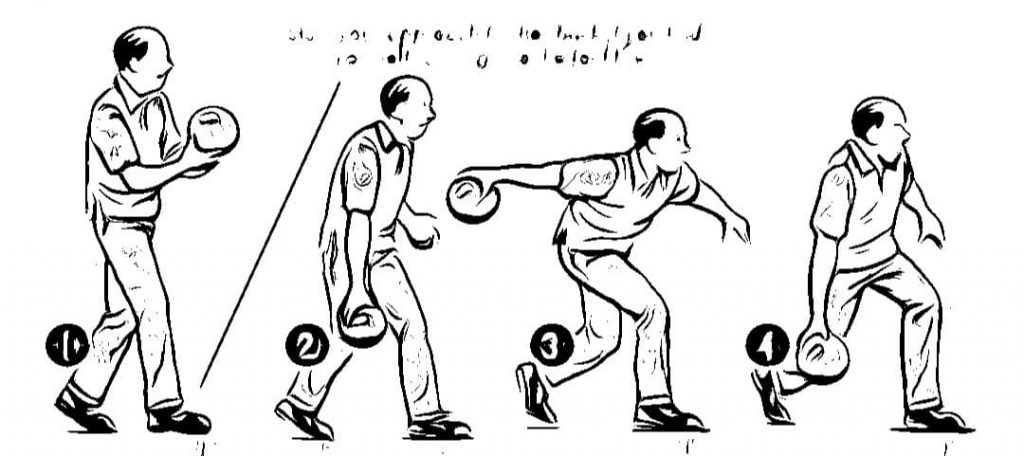 The 4 Bowling Steps