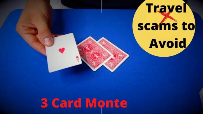 3 Card Monte, Common Travel Scams to Avoid