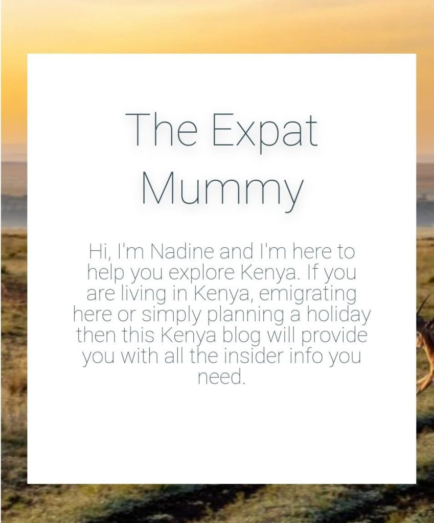 Expat Mummy, one of the Travel bloggers in Kenya