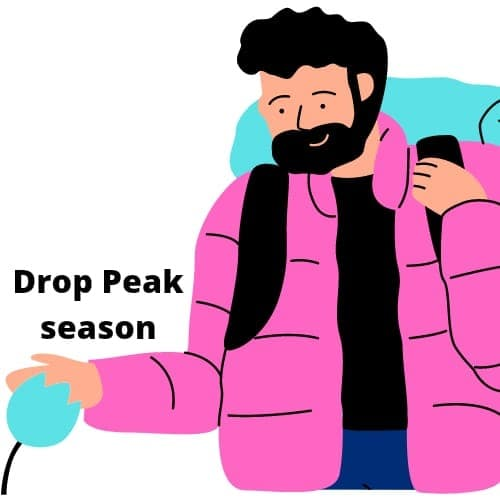 How to travel on a Tight Budget- Drop Peak Season