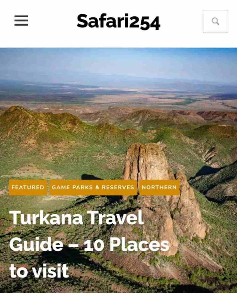 One of the Top Travel Bloggers in Kenya 254