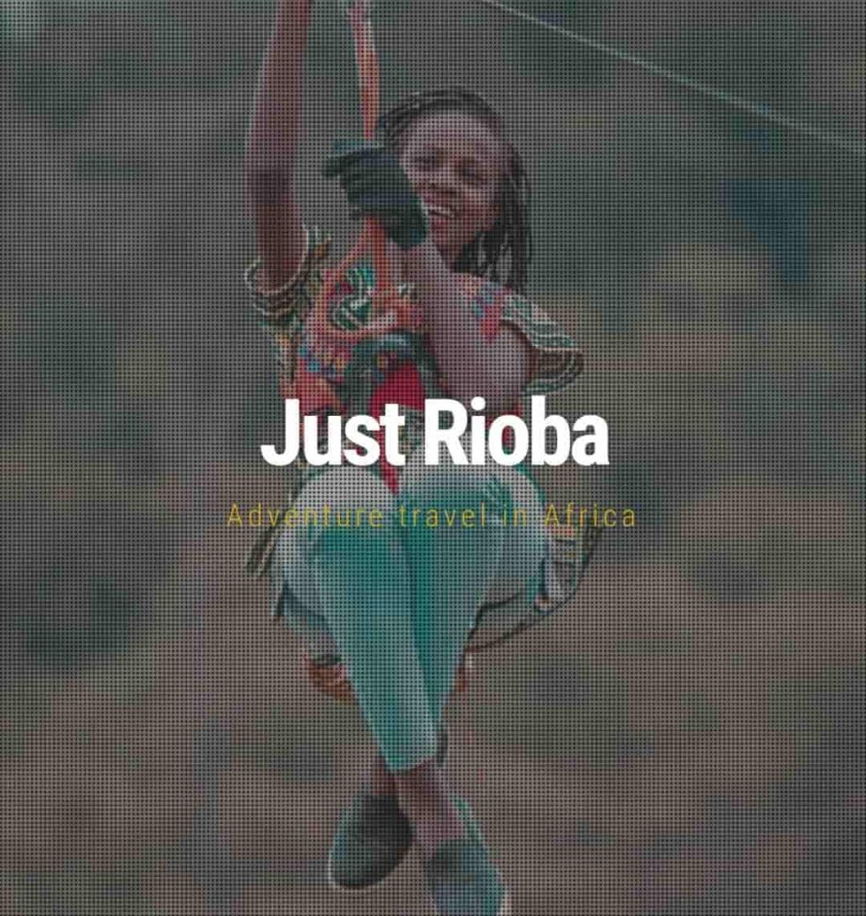One of the travel bloggers in Kenya to follow - Just Rioba