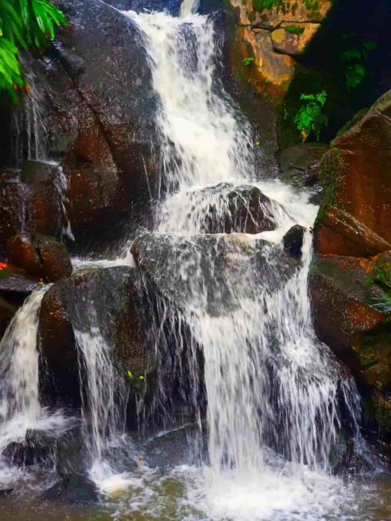 Water fall at Oloolua Nature Trail.