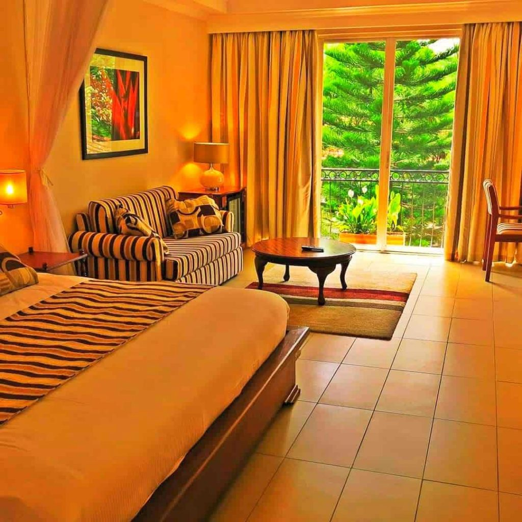 A Double room at Sovereign Hotel