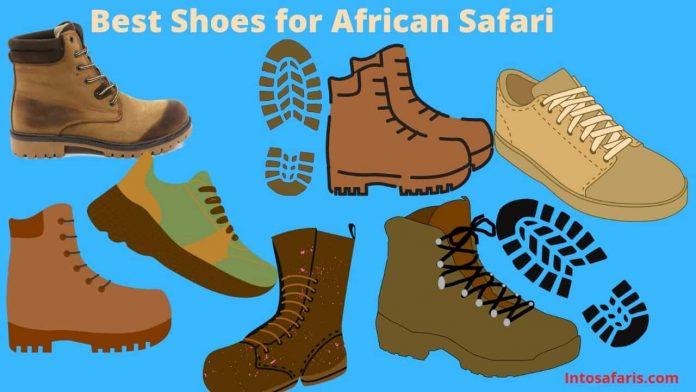 Best shoes for African Safari in Kenya (Shoe Game)
