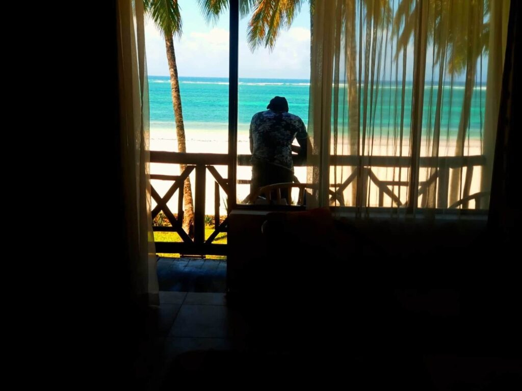 Sea View from your room